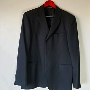 Banana republic blazer jacket black 42S lightweigh